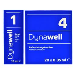 Dynawell 1 und Dynawell 4 Augentropfen