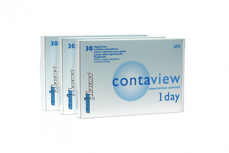 Contaview aberration control 1day UV, 90 Stück