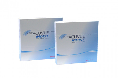 1-Day Acuvue Moist 2x90 Tageslinsen Sparpaket 3 Monate