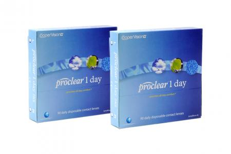 Proclear 1 day 2 x 90 Tageslinsen Sparpaket 3 Monate