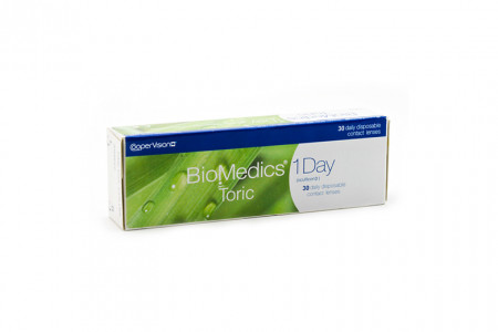 Biomedics 1 day Extra toric 30 Tageslinsen