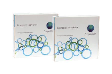 Biomedics 1 day Extra, Sparpaket 3 Monate 2x90 Stück