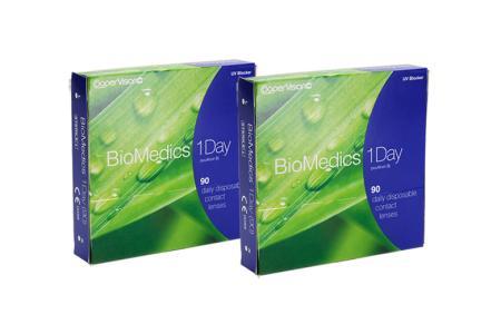 Biomedics 1 day Extra 2x90 Tageslinsen Sparpaket 3 Monate