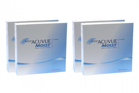1-Day Acuvue Moist, Sparpaket 6 Monate 2x180 Stück