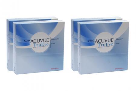 1-Day Acuvue TruEye 4 x 90 Tageslinsen Sparpaket 6 Monate