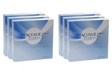 1-Day Acuvue TruEye 6 x 90 Tageslinsen Sparpaket 9 Monate