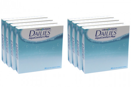 Dailies AquaComfort Plus, Sparpaket 12 Monate 2x360 Stück
