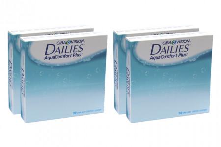 Dailies AquaComfort Plus, Sparpaket 6 Monate 2x180 Stück