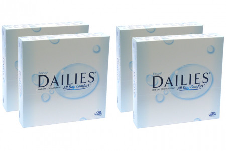 Dailies All Day Comfort, Sparpaket 6 Monate 2x180 Stück