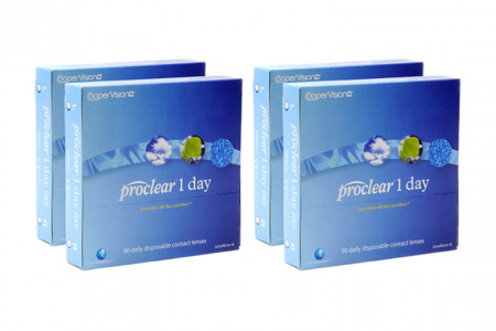 Proclear 1 day 2x180 Tageslinsen Sparpaket 6 Monate