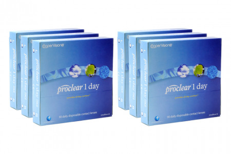 Proclear 1 day 2x270 Tageslinsen Sparpaket 9 Monate