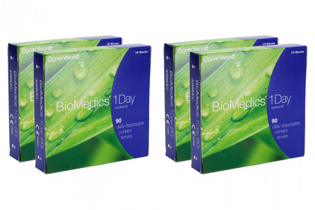 Biomedics 1 day Extra 4 x 90 Tageslinsen Sparpaket 6 Monate