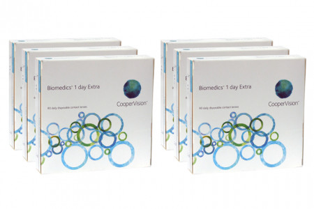 Biomedics 1 day Extra, Sparpaket 9 Monate 2x270 Stück