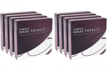Dailies Total 1 2x360 Tageslinsen Sparpaket 12 Monate