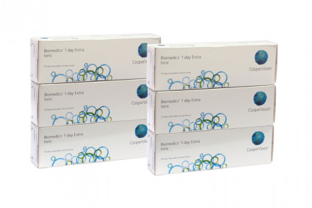 Biomedics 1 day Extra toric, Sparpaket 3 Monate 2x90 Stück