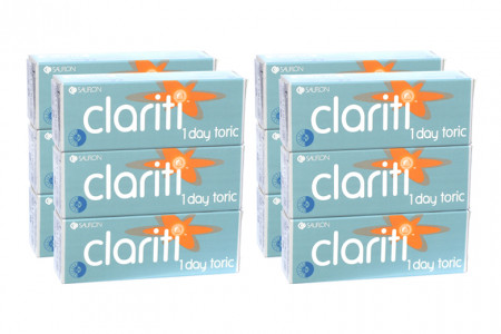 Clariti 1 day toric 4 x 90 Tageslinsen Sparpaket 6 Monate