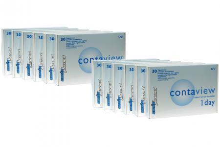 Contaview aberration control 1day UV, Sparpaket 6 Mt. 2x180 Stk.