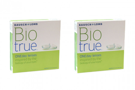 Biotrue One day 2x90 Tageslinsen Sparpaket 3 Monate