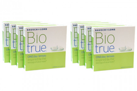 Biotrue One day 2x360 Tageslinsen Sparpaket 12 Monate