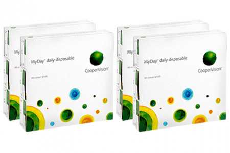 MyDay daily disposable, Sparpaket 6 Monate 2x180 Stück