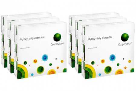 MyDay daily disposable 2x270 Tageslinsen Sparpaket 9 Monate