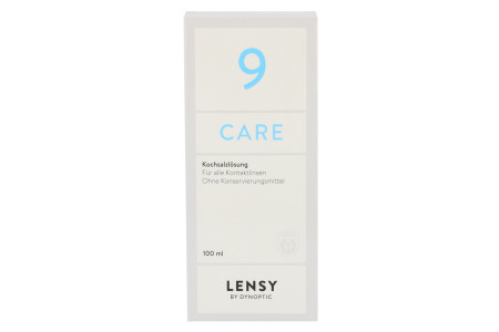 Lensy Care 9 1 x 100 ml Kochsalzlösung