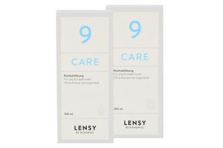 Lensy Care 9 2x100ml Kochsalzlösung