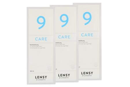 Lensy Care 9 3 x 360 ml Kochsalzlösung