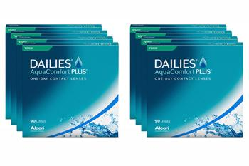 Dailies AquaComfort Plus Toric 8 x 90 Tageslinsen Sparpaket 12 Monate