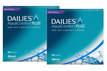 Dailies AquaComfort Plus Multifocal 2x90 Tageslinsen Sparpaket 3 Monate