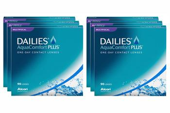 Dailies AquaComfort Plus Multifocal 6 x 90 Tageslinsen Sparpaket 9 Monate
