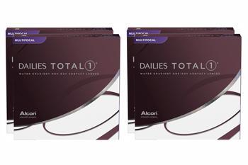Dailies Total 1 Multifocal Kontaktlinsen von Ciba Vision / Alcon, Sparpaket 9 Monate 2x270 Stück