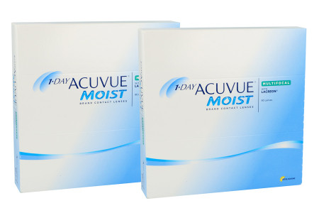 1-Day Acuvue Moist Multifocal 2x90 Tageslinsen Sparpaket 3 Monate