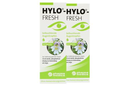 Hylo-Fresh Augentropfen 2x10ml