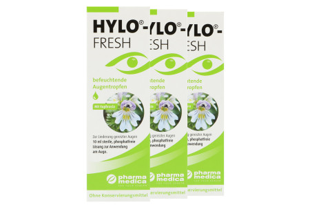 Hylo-Fresh 3 x 10 ml Augentropfen