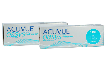 Acuvue Oasys 1-Day with HydraLuxe, 2x 30 Stück