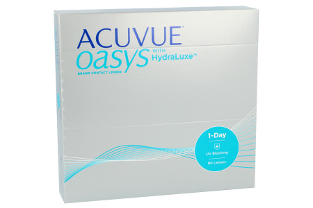 Acuvue Oasys 1-Day with HydraLuxe, 90 Stück