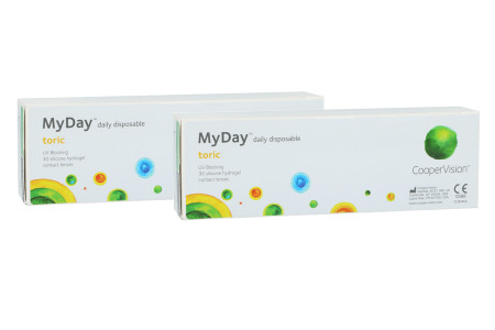 MyDay daily disposable toric 2x30 Tageslinsen