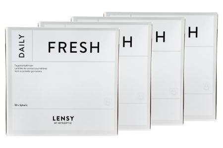 Lensy Daily Fresh Spheric 4 x 90 Tageslinsen Sparpaket 6 Monate