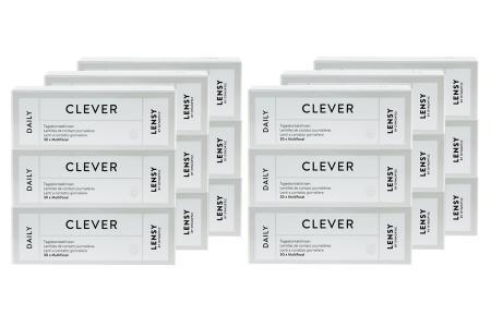 Lensy Daily Clever Multifocal Kontaktlinsen von Dynoptic, Sparpaket 9 Monate 2 x 270 Stück