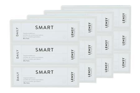 Lensy Daily Smart Toric Kontaktlinsen von Dynoptic, Sparpaket 6 Monate 2x180 Stück