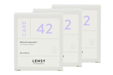 Lensy Care 42 3 x 20 x 0.35 ml Augentropfen