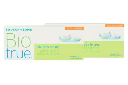 Biotrue One day for Astigmatism 2 x 30 Tageslinsen