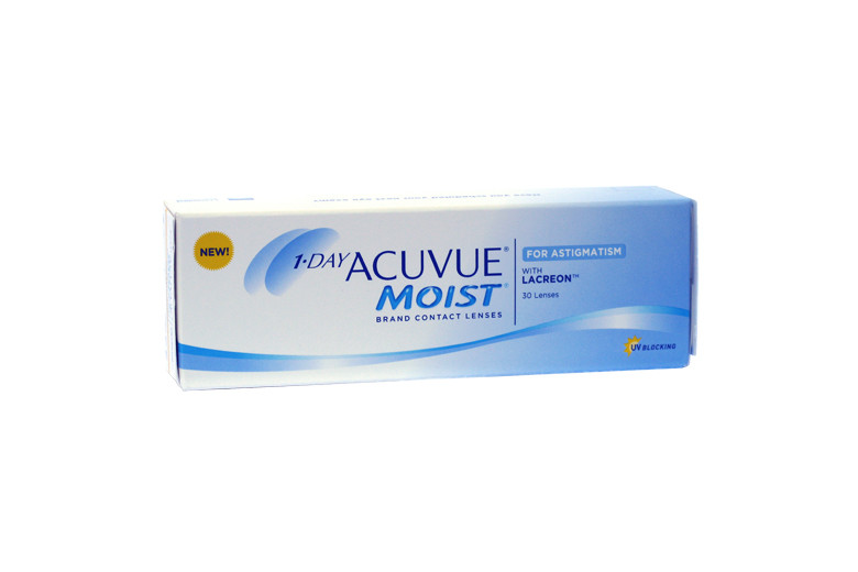 Image of 1-Day Acuvue Moist for Astigmatism, 30 Stück