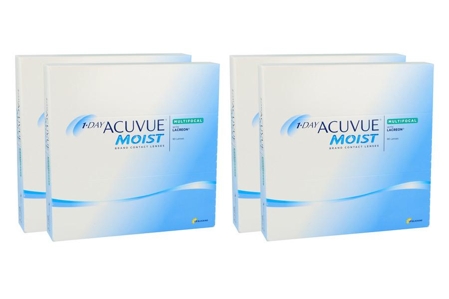 Image of 1-Day Acuvue Moist Multifocal, 2x180 Stück Kontaktlinsen von Johnson & Johnson