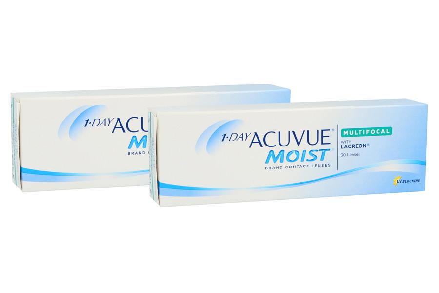 Image of 1-Day Acuvue Moist Multifocal, 2x30 Stück Kontaktlinsen von Johnson & Johnson