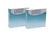 Dailies AquaComfort Plus, Sparpaket 3 Monate 2x90 Stück