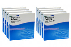 SofLens daily disposable 8 x 90 Tageslinsen Sparpaket 12 Monate