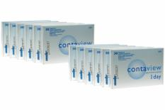 Contaview aberration control 1day UV, Sparpaket 6 Mt. 2x180 Stk.