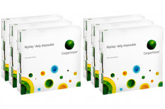MyDay daily disposable 6 x 90 Tageslinsen Sparpaket 9 Monate
